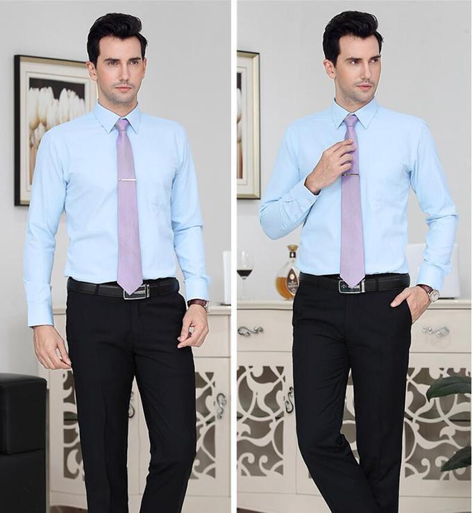 男士正装衬衫工作服